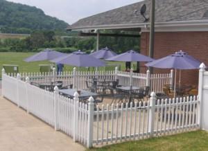 Outdoors at McDain's