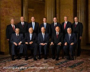Mormonism's governing body
