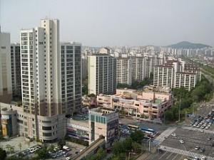 Beautiful downtown Ilsan