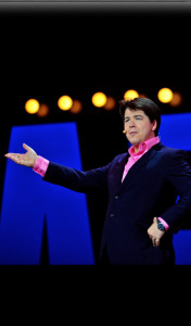 Comedian Michael McIntyre